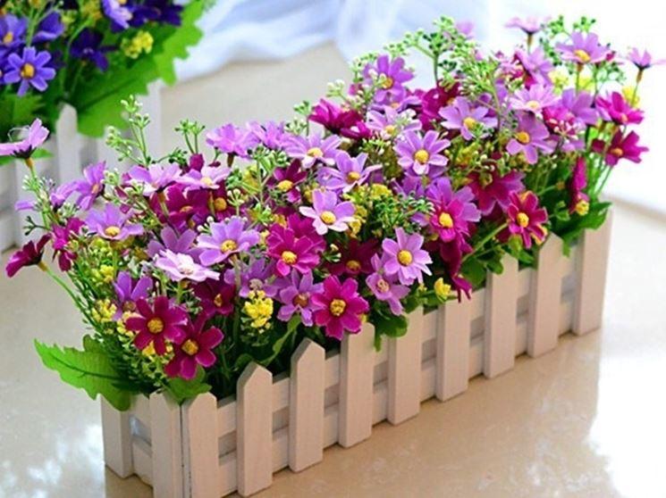 fiori artificiali per esterno
